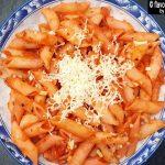 red sauce pasta